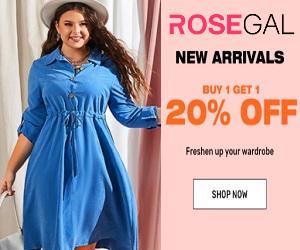 Rosegal, мода, которая никогда не выходит из моды
